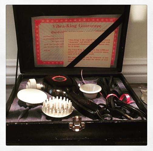 Vintage Vibrator Museum Vibra-King Activator | Naughty LA