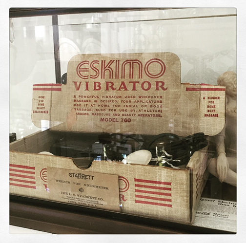 Vintage Vibrator Museum Eskimo Vibrator Model 760 | Naughty LA